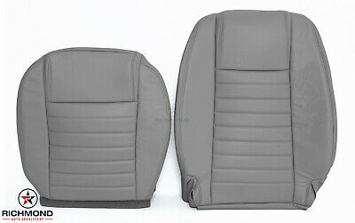 $506.70 • Buy 2005-2009 Ford Mustang V8 Coupe GT-Driver Side Complete Leather Seat Covers Gray