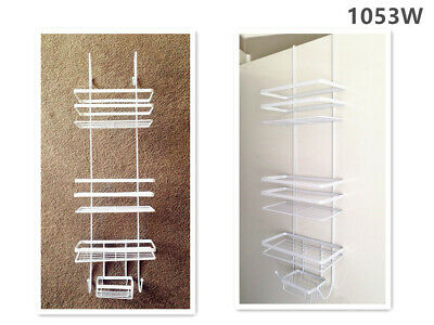 AU19.99 • Buy 3 Tier Over Door Shower Organizer Caddy Storage Bathroom Shelves 1053B
