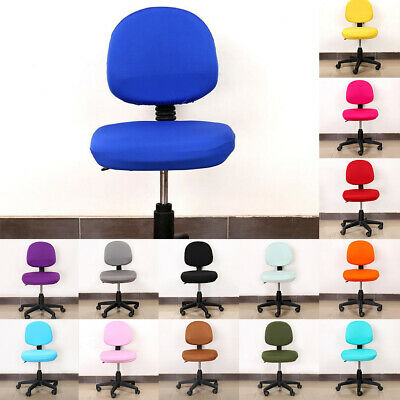 AU11.85 • Buy Universal Stretch Office Computer Chair Covers Rotating Desk Chair Seat