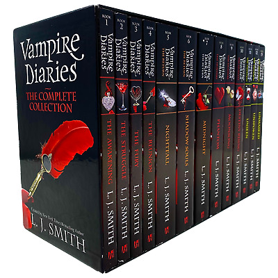£42.74 • Buy Vampire Diaries Complete Collection 13 Books Set By L. J. Smith (The Awakening)