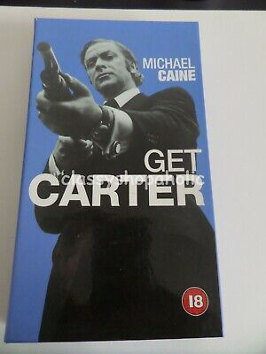 Get Carter VHS Video Starring Michael Caine - Brand New & Sealed • 10£