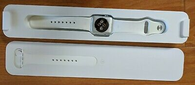 $ CDN196.36 • Buy Apple Watch Series 2 38mm Aluminum Case White Sport Band - (MNNW2LL/A)