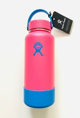 $78 • Buy Hydro Flask 32 Oz Wide Mouth Bottle - LIMITED EDITION Fuchsia + Blue Boot