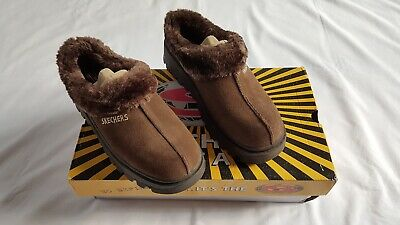 Skechers Womens Fortress Clog Slippers Brown US Ladies Size 7.5 • 43.41£