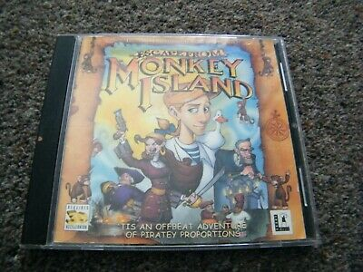PC CD Escape From Monkey Island • 4.99£