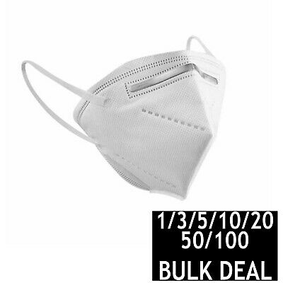 AU29.95 • Buy Kn95 N95 Ffp2 Face Mask Disposable Anti Dust Medical Surgical Bulk 5/10/20/50100