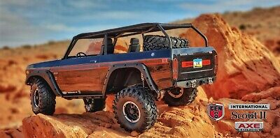 Redcat Racing Gen8 Scout II AXE Edition 1/10 Scale 4WD Brushless RC Crawler *BLK • 357.62£