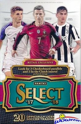 $ CDN100.62 • Buy 2017/18 Panini Select Soccer EXCLUSIVE Sealed Retail Box--KYLIAN MBAPPE RC Yr!