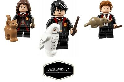 AU24.95 • Buy Lego Harry Potter - Harry - Ron - Hermione Minifigure [71022]