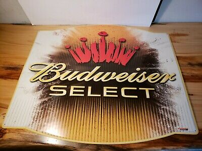 $ CDN46.24 • Buy Budweiser Select.... Metal Advertising Sign 32 X28   2005