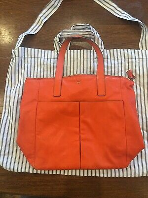 £80 • Buy Anya Hindmarch Nevis Tote Clementine