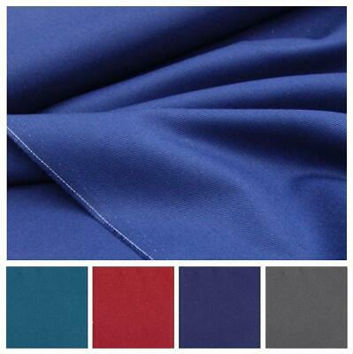 £7.69 • Buy 100% Cotton Plain Twill Drill Clothing Dress Craft Upholstery Fabric