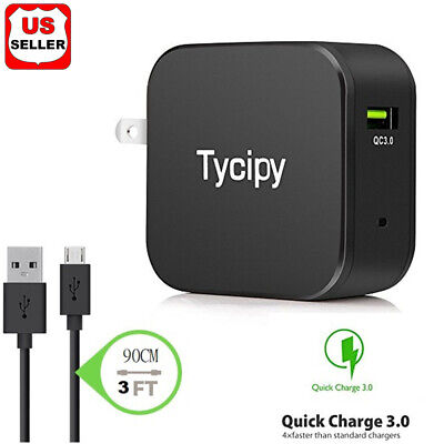 $ CDN8.72 • Buy 18W Fast Quick Charge QC 3.0 USB Wall Charger Adapter US Plug For IPhone/Samsung
