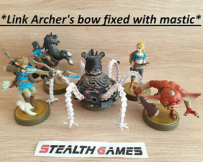 AU249.90 • Buy Zelda Breath Of The Wild Complete Amiibo Set (Link Archer's Bow Has Been Fixed)