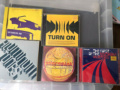 Stereolab Cd Bundle • 25£