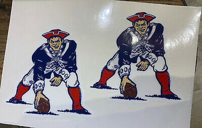 $18.99 • Buy Patriots Throwback Full Size Helmet Decals Only. No Stripes