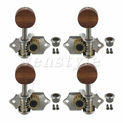 $ CDN21.98 • Buy Left & Right Tuning Peg Machine Head Tuners For Ukulele 4 String Guitar