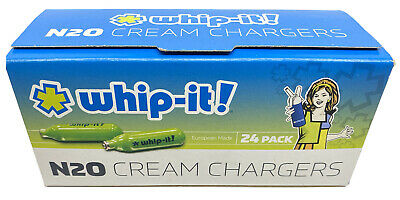 $ CDN52.18 • Buy 2 PACK Whip-It! N20 Cream Chargers 24ct X 2 Box = 48ct - Nitrous Oxide FREE SHIP