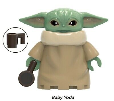 $4 • Buy Baby Yoda Bigger Size Star Wars Minifigure Figure Usa Seller New In Package