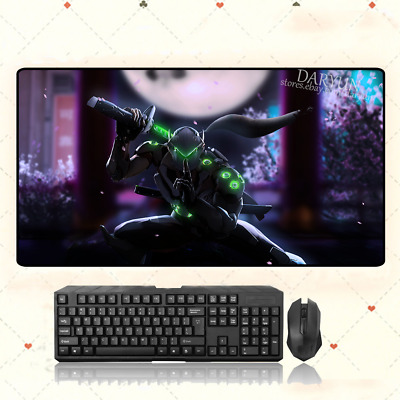 AU35.33 • Buy GAME Overwatch OW Genji Extra Large Mouse Pad Free Shipping(31.5'' * 15.7'')