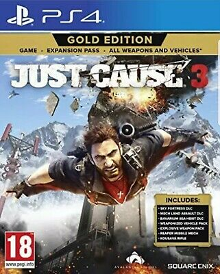 £13.25 • Buy Just Cause 3 Gold Edition Playstation 4 PS4 - New And Sealed