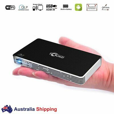 AU331.99 • Buy TOUMEI Mini Projector Android Pocket DLP Outdoor Camp Movie Player Home Cinema