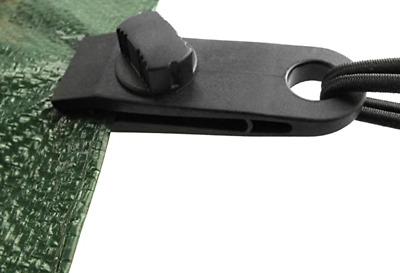Instant Clip On Tarpaulin Eyelets Tarp Clips  Tent Tie Down Cover  • 2.99£