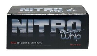 $ CDN279.67 • Buy NITRO N20 LOT 400 Count/8 Box Cream Chargers For Fresh Whipped Cream FREE SHIPP!