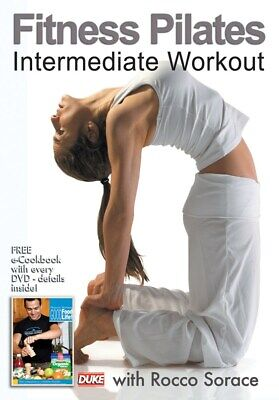 £4.97 • Buy Fitness Pilates Intermediate Workout Rocco Sorace DVD Relieve Stress NEW Lessons