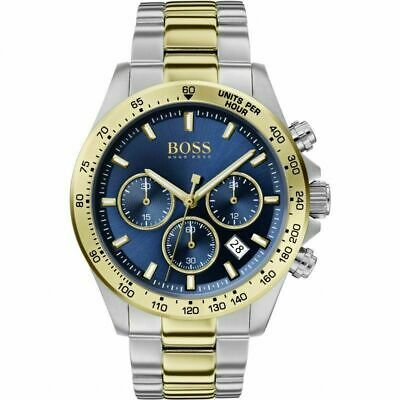 New HB1513767 Hugo Boss Men's Hero Sport Lux Two-Tone Watch UK STOCK • 110£
