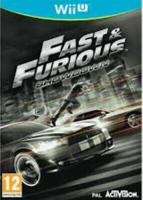 Fast & Furious Showdown - Nintendo Wii U Game. Complete - Case, Manual And Disc. • 27.75£