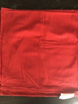Ikea Red  Throw Pillow Covers Set Of Two 20x20 • 8.72£