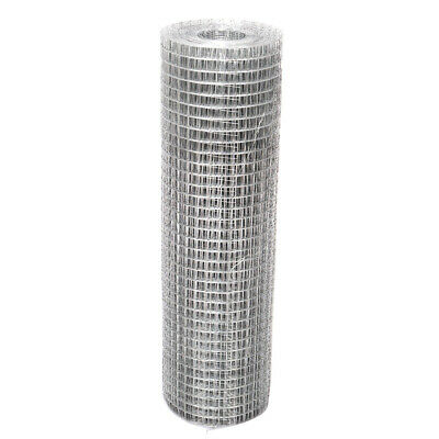 Galvanized Metal Wire Mesh Fence Fencing Screen Roll Chicken Rabbit Protection • 20.34£