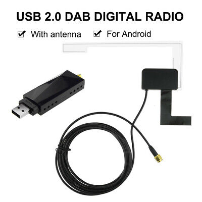 DAB Car Radio Tuner Receiver USB Stick DAB Box For Android Car DVD USB Dongle • 26.39£