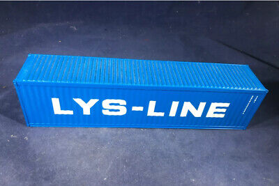 CORGI TRUCK - 1.50 SCALE 40' SHIPPING CONTAINER LOAD    LYS - LINE Ideal Code 3 • 19.99£