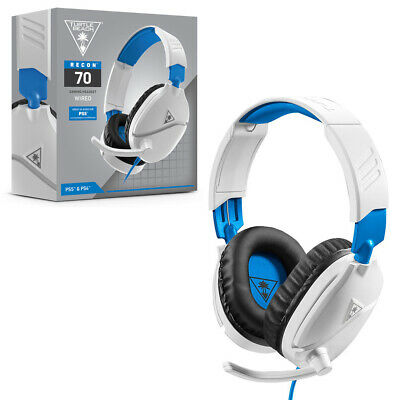 AU57.95 • Buy Turtlebeach Turtle Beach Recon 70P White Gaming Headset For PS4 & PS5 NEW