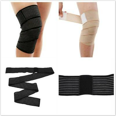 Elastic Bandage Tape Sport Knee Support Strap Protector For Leg Wrist Band YU • 2.97£