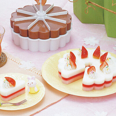 DIY Cake Mold Dish Sushi Trays Set Baked Jelly Pudding Cups Rice Dumpling Mold • 5.94£
