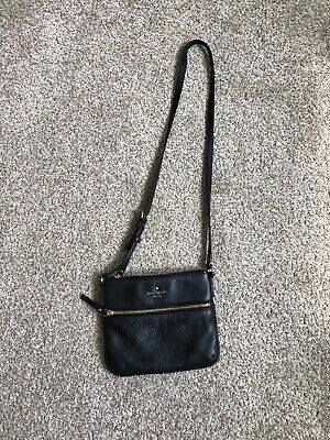 $ CDN74 • Buy Kate Spade Cobble Hill Tenley Pebbled Leather Black Crossbody