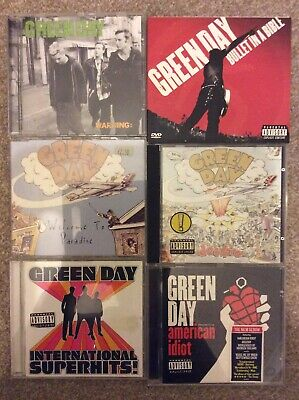 Green Day CD Collection 7 X CD • 7.99£