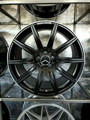 $1025 • Buy 19  Stag Machined Black E63 AMG Style Rims Wheels Fits S Class W221 W222 S550