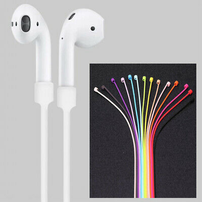 $ CDN4.13 • Buy For Apple AirPods Silicone Anti Lost Strap Cord AirPod Earphones String Rope Hot