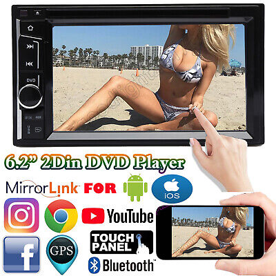 $137.60 • Buy For Chevrolet Silverado 6.2  2Din Stereo Car CD DVD Radio Bluetooth Touch Screen