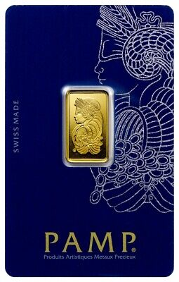 $ CDN544.43 • Buy PAMP Suisse Fortuna 5 Gram .9999 Gold Bar - Sealed With Assay Card