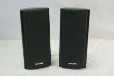 $58.95 • Buy Pair Of Aiwa Speakers SX-R2900 150 Watt Stereo Wall Bookshelf Or Counter Vintage