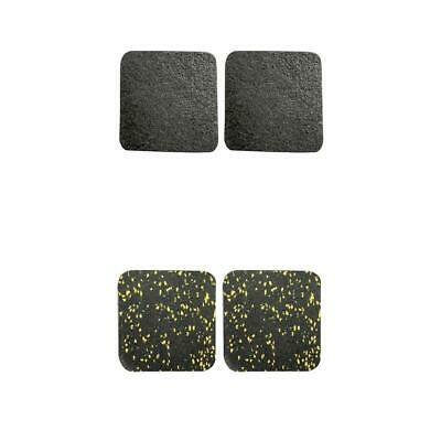 AU18.17 • Buy 2 Pairs Treadmill Sound Insulation Mat Furniture Rubber Home Exercise Mat