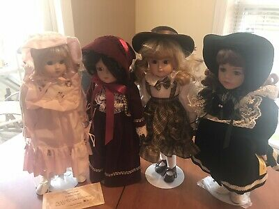 $ CDN36.53 • Buy Porcelain Doll Lot Of 4