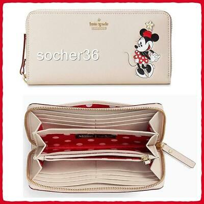 $ CDN129.57 • Buy Kate Spade X Disney Minnie Mouse Lacey Continental Wallet Wlru6028 Nwt $229