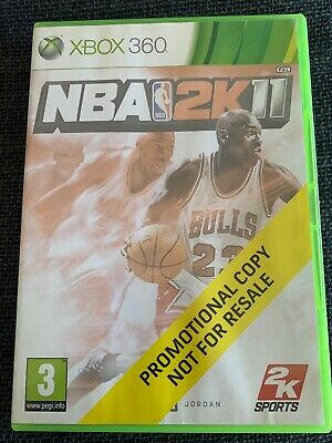 AU12.99 • Buy NBA Basketball 2K11 Xbox 360 Video Game