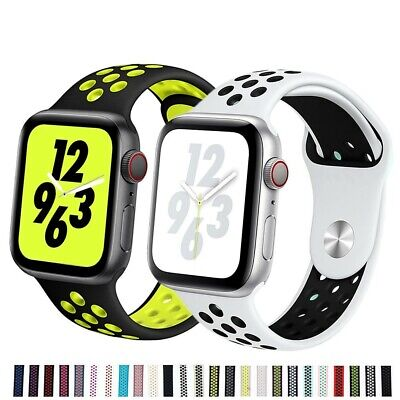AU8.49 • Buy Silicone Nike Sport Strap IWatch Band For Apple Watch 38/40/42/44mm Series 54321
